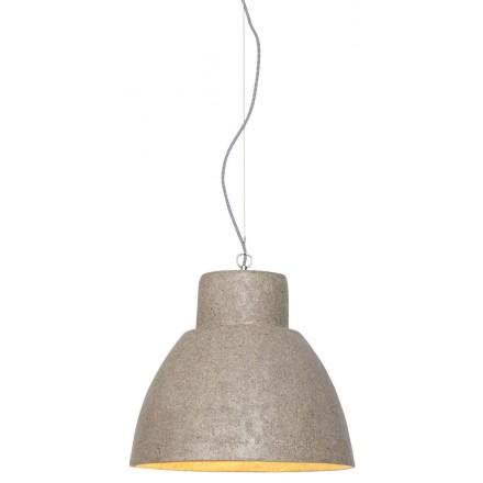 CEBU wood chip suspension lamp (sand)