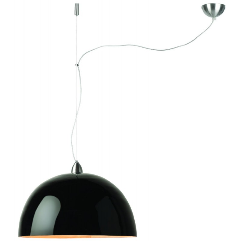 Lampada sospensione bambù HALONG (nero)