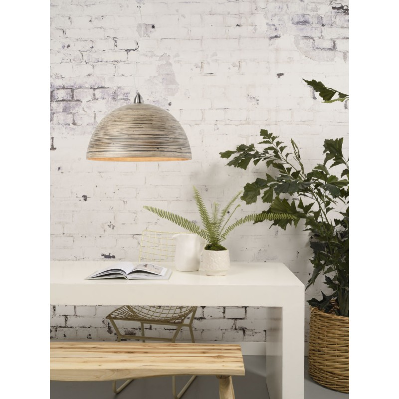 Lámpara de suspensión de bambú HALONG (natural) - image 45120