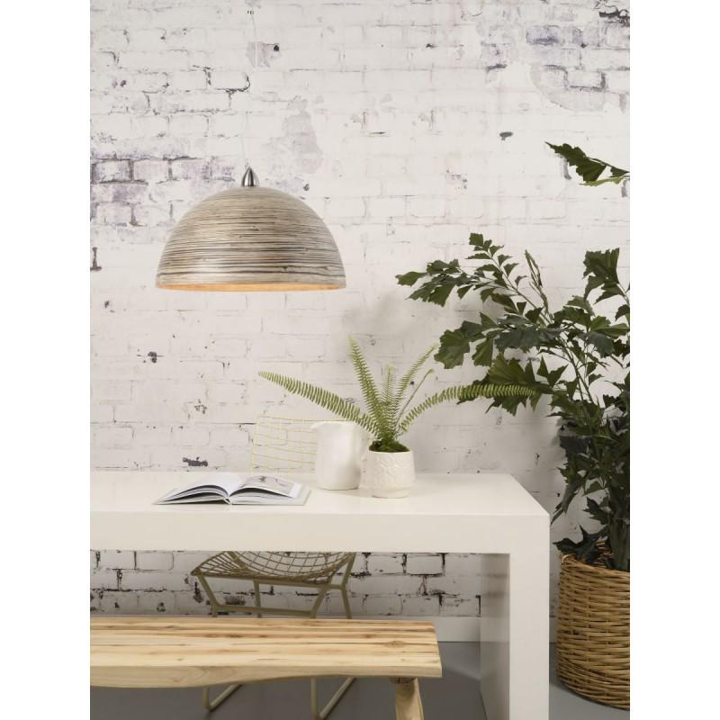 Lampe à suspension en bambou HALONG (naturel) - image 45120
