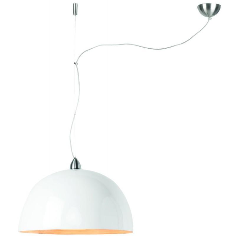 HALONG bamboo suspension lamp (white)