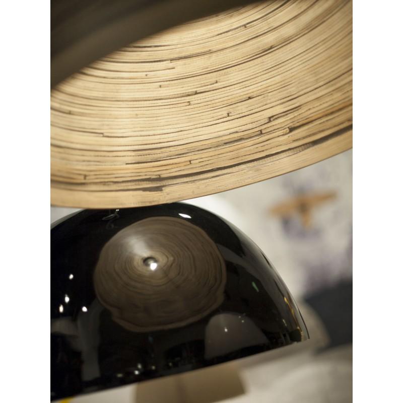 HALONG Bamboo Hängeleuchte 2 Lampenschirme (natürlich) - image 45139