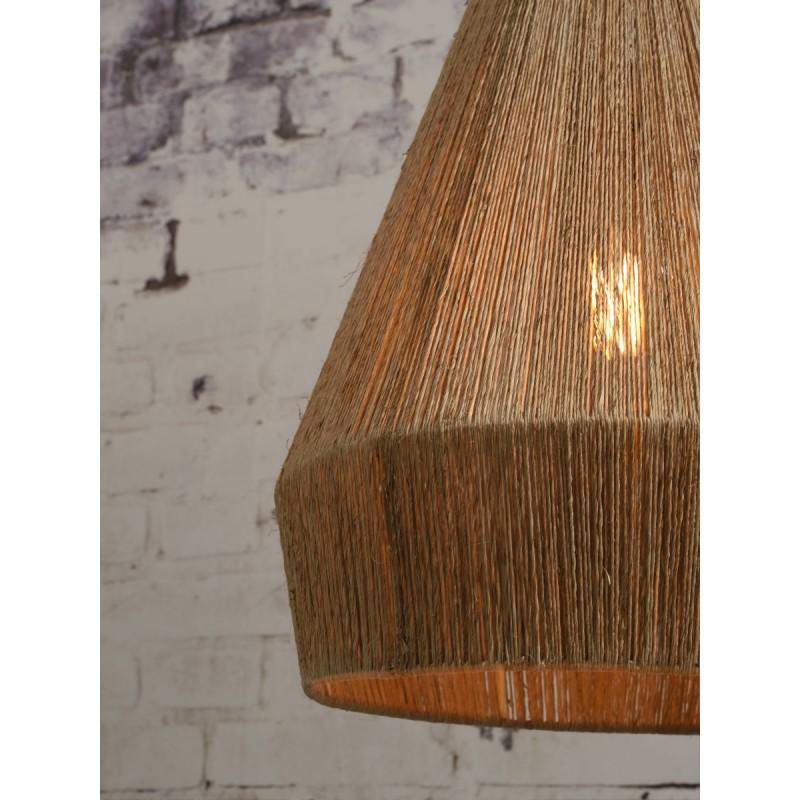 Lampe à suspension en jute IGUAZU SMALL (Ø 40 cm) (naturel) - image 45173