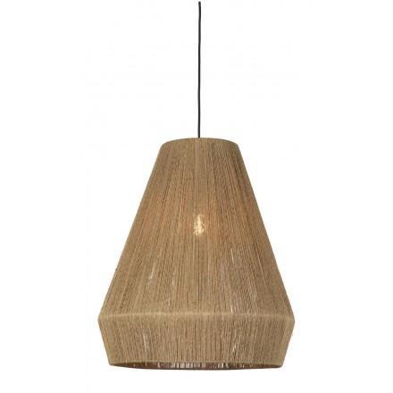 Lámpara de suspensión de yute IGUAZU XL (50 cm) (natural)
