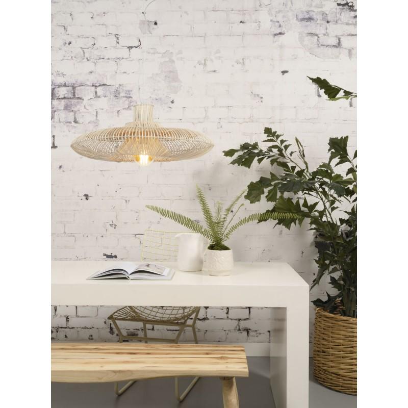 Lampe à suspension en rotin KALAHARI XL (naturel) - image 45210