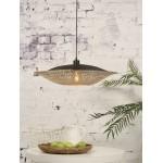 KaliMANTAN SMALL lámpara de suspensión de bambú (natural, negro)