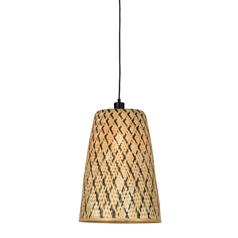 KALIMANTAN H48 lampada a sospensione bambù (naturale, nera) - image 45255
