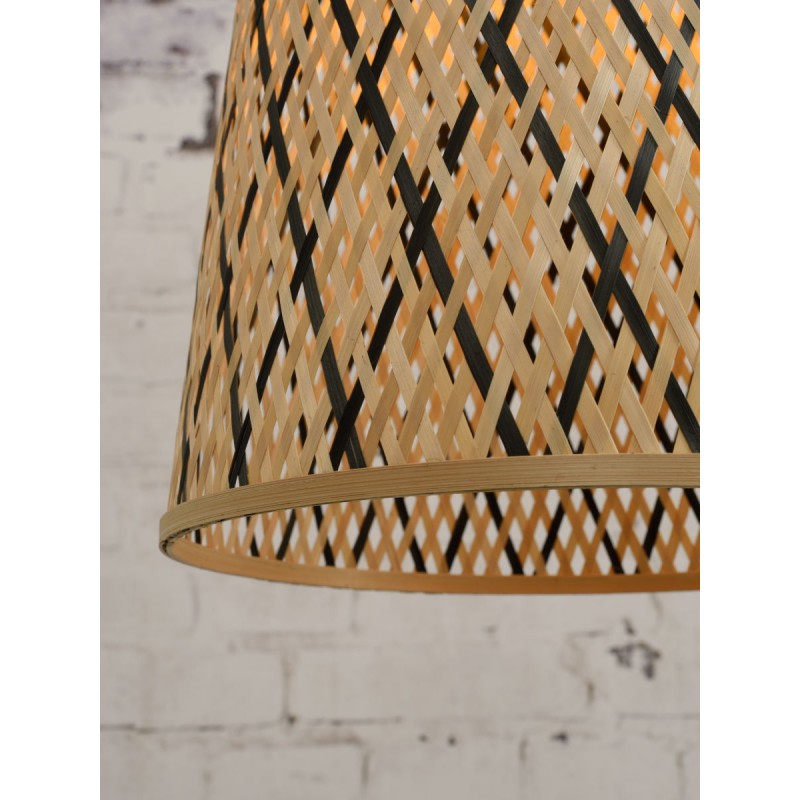 KALIMANTAN H48 lampada a sospensione bambù (naturale, nera) - image 45262