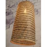 KALIMANTAN H66 bambù lampada a sospensione (naturale, nera)