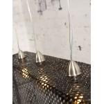 Lampe à suspension en bambou KOMODO (noir)