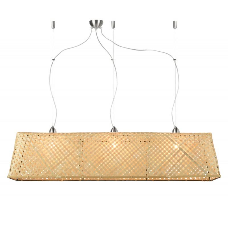 KOMODO bamboo suspension lamp (natural)
