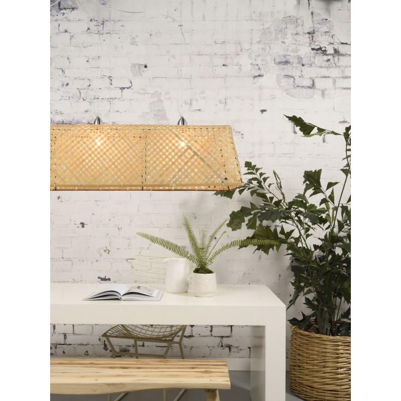 Lampe à suspension en bambou KOMODO (naturel) - image 45315