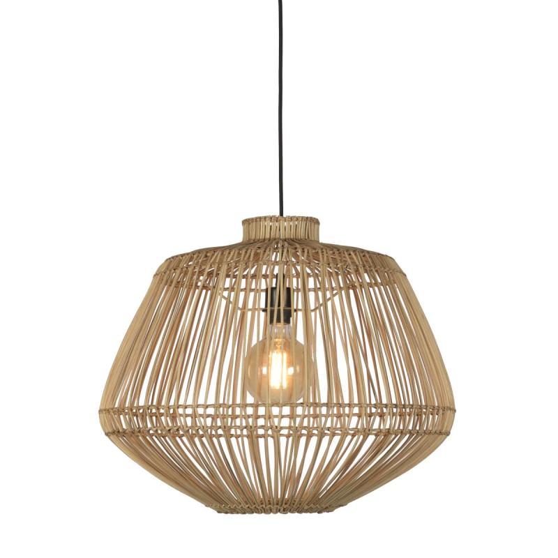 Lampe à suspension en rotin MADAGASCAR (naturel) - image 45341