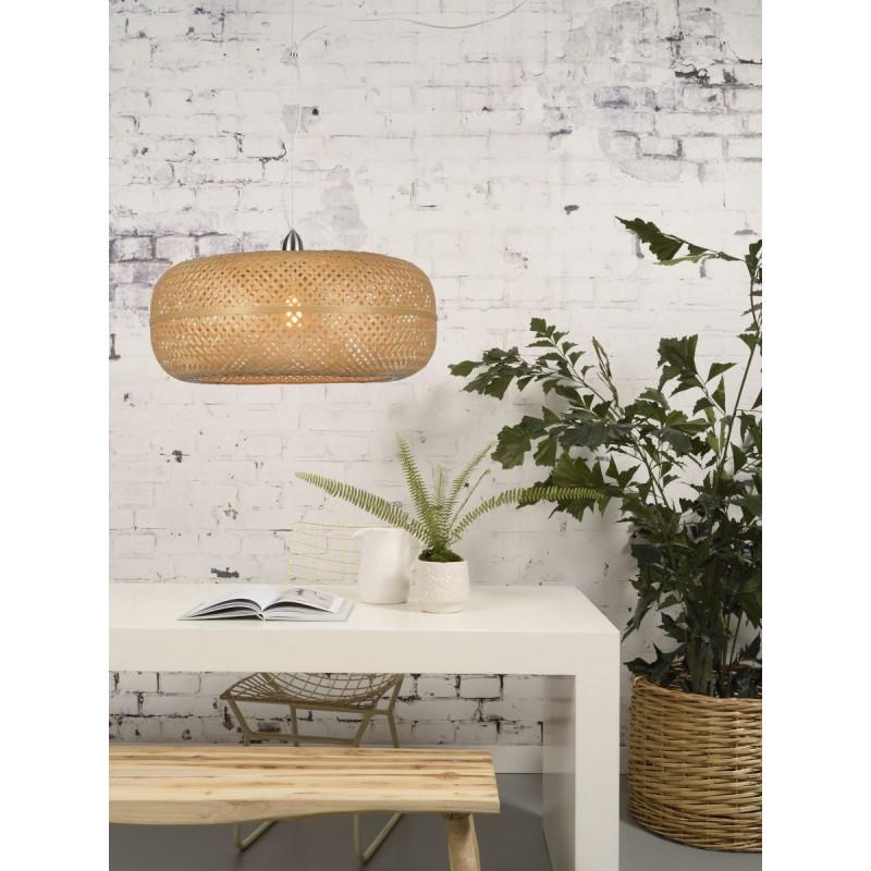 PALAWAN bamboo suspension lamp (natural) - image 45418