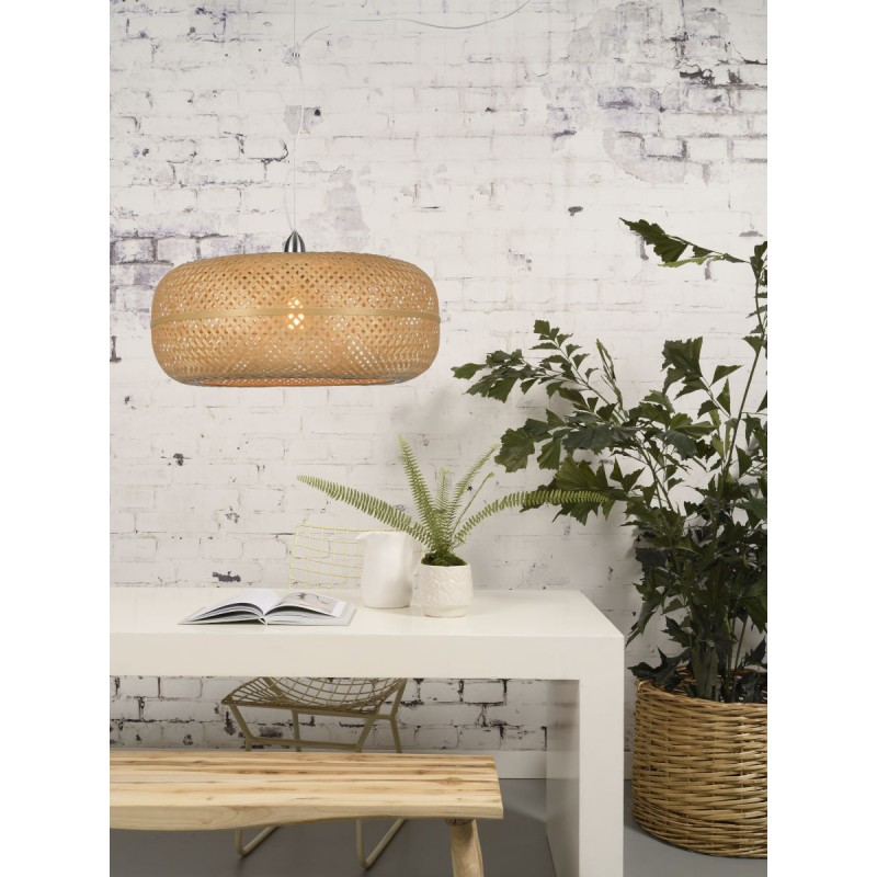 Lampada a sospensione di bambù PALAWAN (naturale) - image 45418