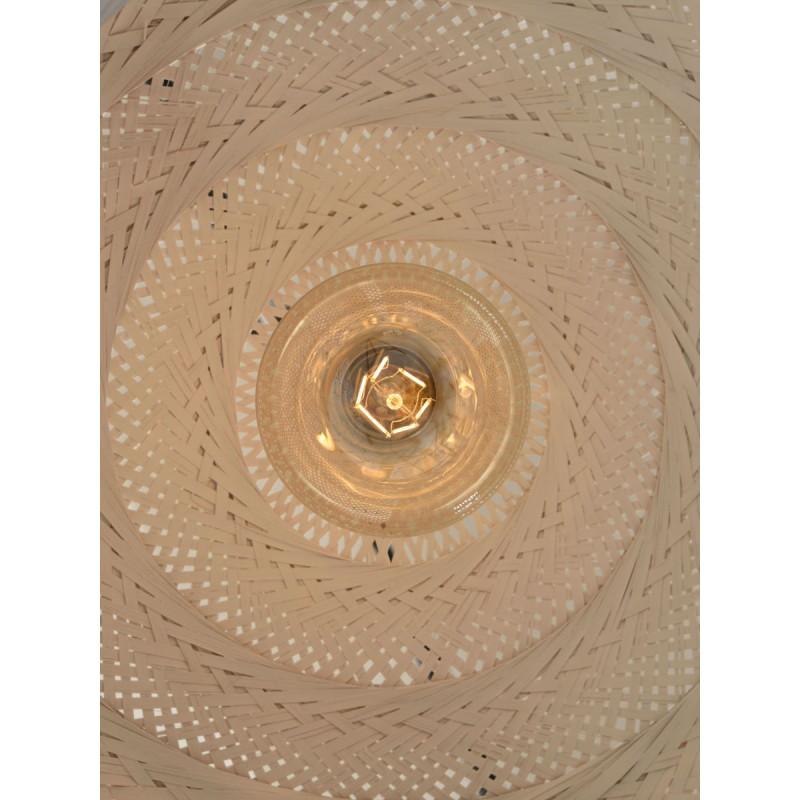 Lampe à suspension en bambou PALAWAN (blanc) - image 45433