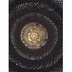 Lampe à suspension en bambou PALAWAN 2 abat-jours (noir)