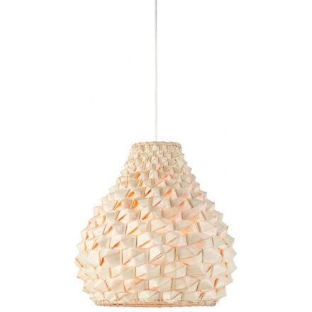 SagaNO MEDIUM lampada a sospensione bambù (naturale)