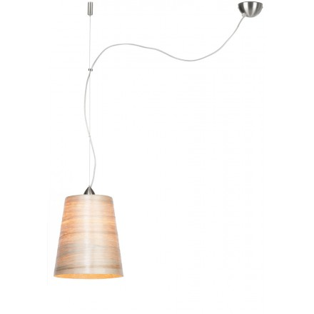Lámpara de suspensión en abaca SAHARA MEDIUM 1 tono (natural)
