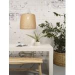 Lampe à suspension en bambou SERENGETI 1 abat-jour (naturel)