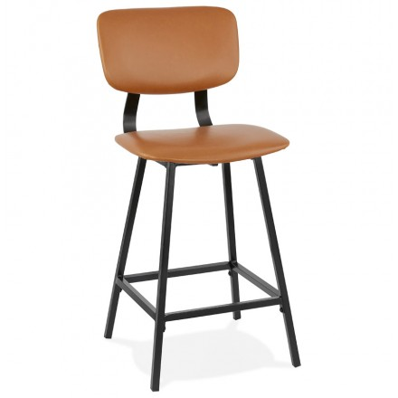 Vintage mid-height bar pad FOREST MINI piedi neri (marrone)