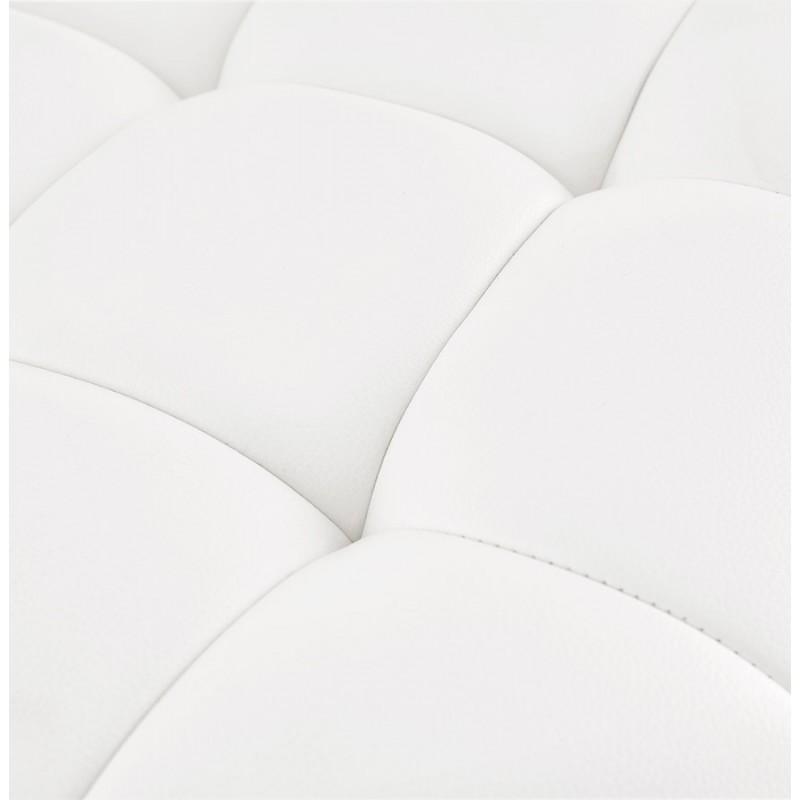 Tabouret de bar matelassé et réglable ANAIS (blanc) - image 46267