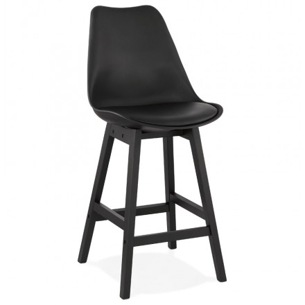 Bar bar set bar bar half-height design black feet DYLAN MINI (black)