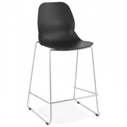 BAR bar set bar bar chair half-height stackable design JULIETTE MINI (black)