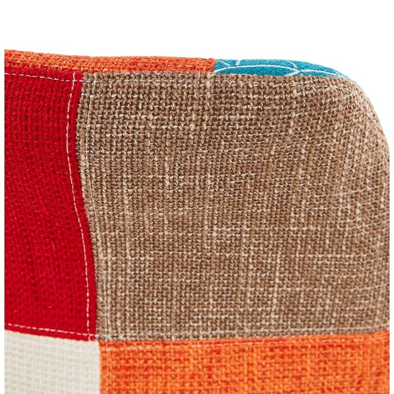 Barra de barra de parche bohemio de altura media en tejido MAGIC MINI (multicolor) - image 46638