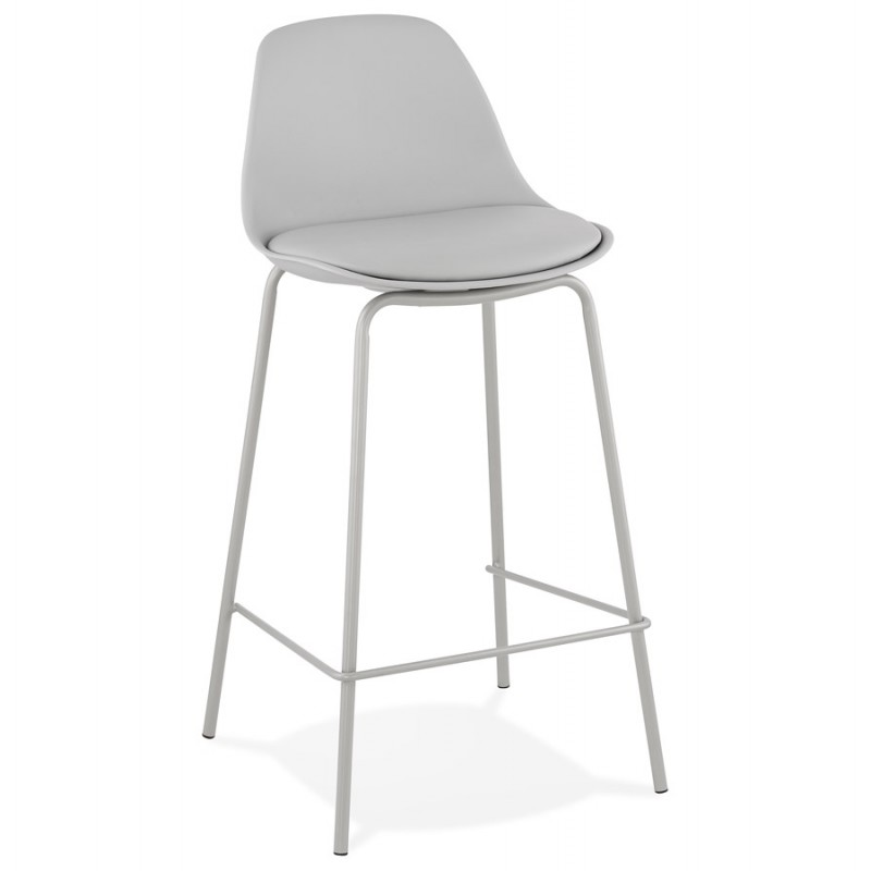 Bar pad a media altezza vintage piedi grigio chiaro OCEANE MINI (grigio chiaro)