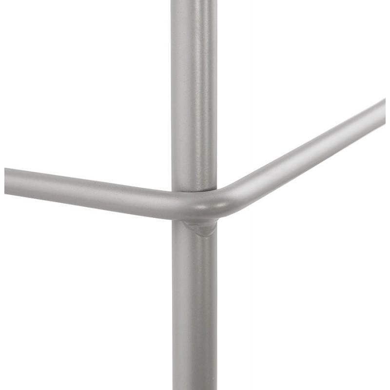 Tabouret de bar chaise de bar industriel pieds gris clair OCEANE (gris clair) - image 46687
