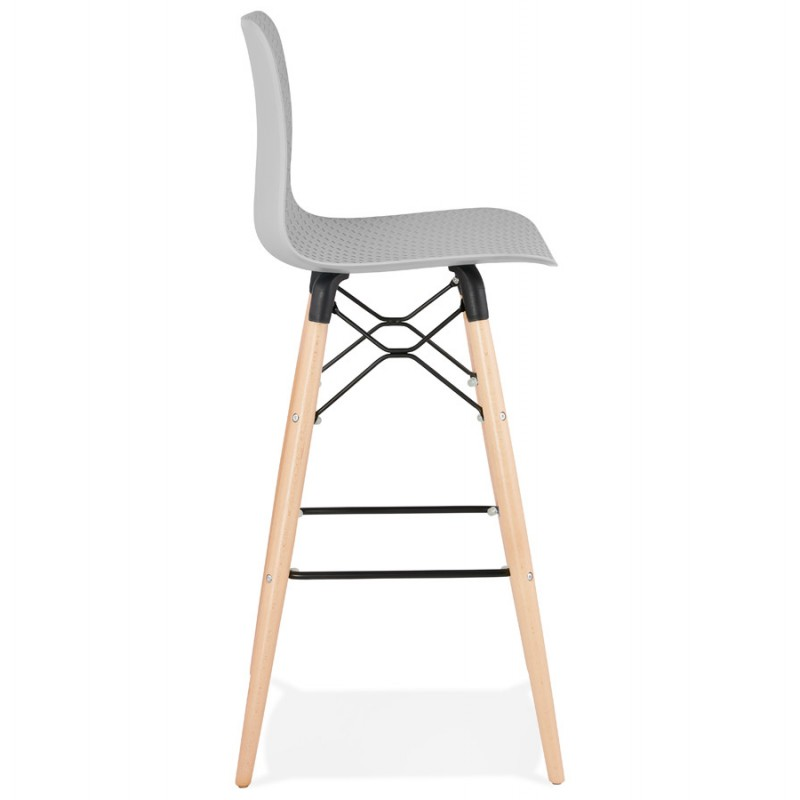FAIRY skandinavischen Design Barhocker (hellgrau) - image 46691