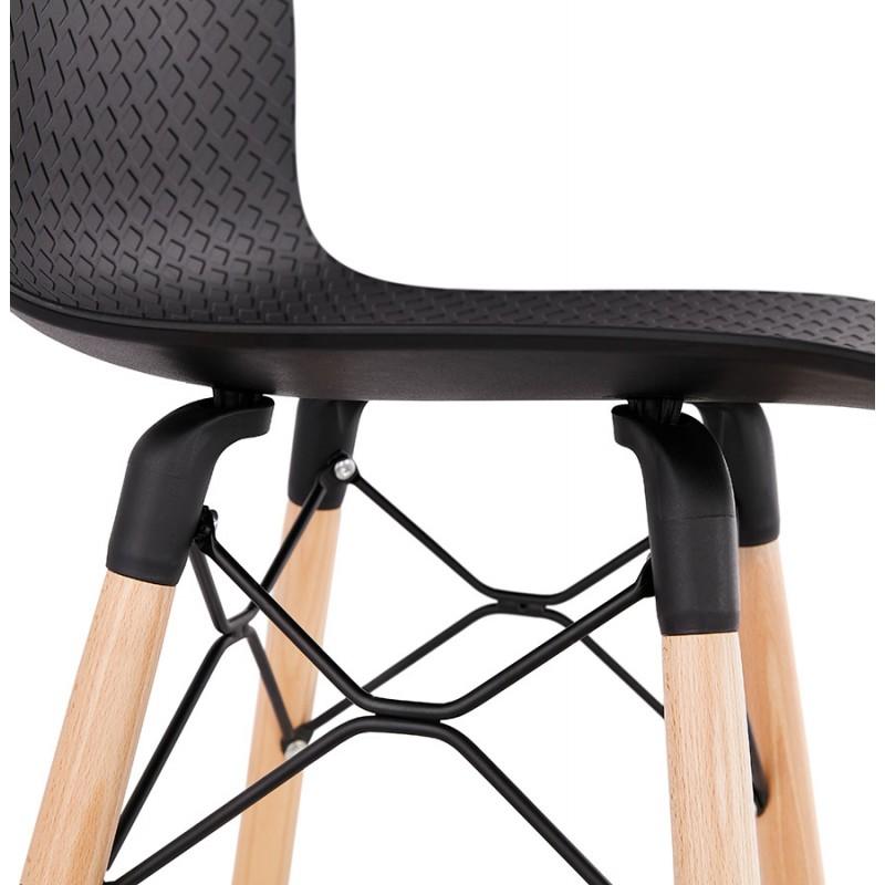 FAIRY skandinavischen Design Barhocker (schwarz) - image 46712