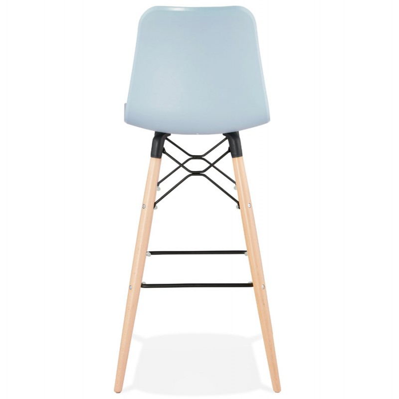 Tabouret de bar design scandinave FAIRY (bleu clair) - image 46723