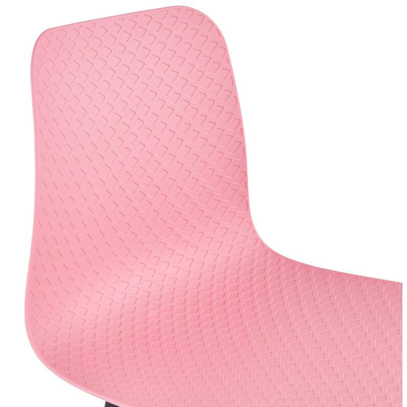 Sgabello barra di design scandinavo FAIRY (rosa) - image 46754