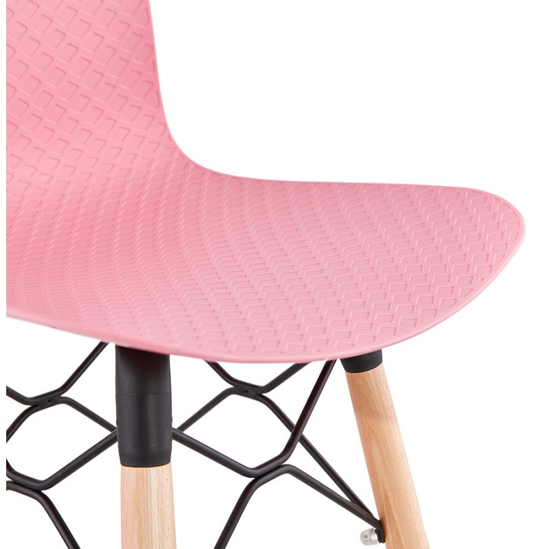 Scandinavian mid-height bar set FAIRY MINI (pink) - image 46831
