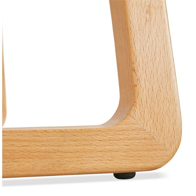 Pad bar scandinavo a media altezza in tessuto per piedi di colore naturale MELODY MINI (grigio antracite) - image 46910