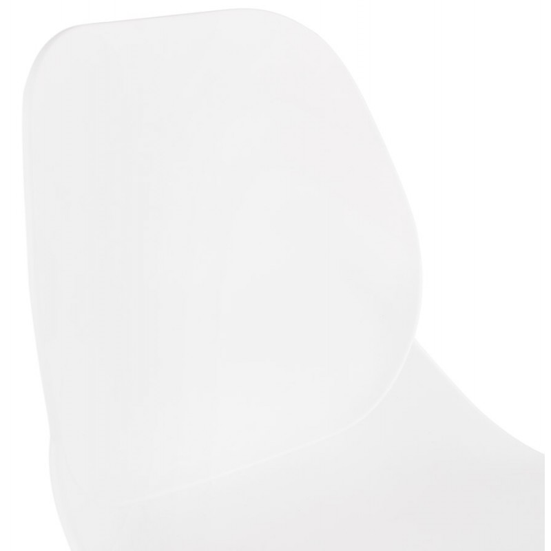 PACO Scandinavian design bar stool (white) - image 46947