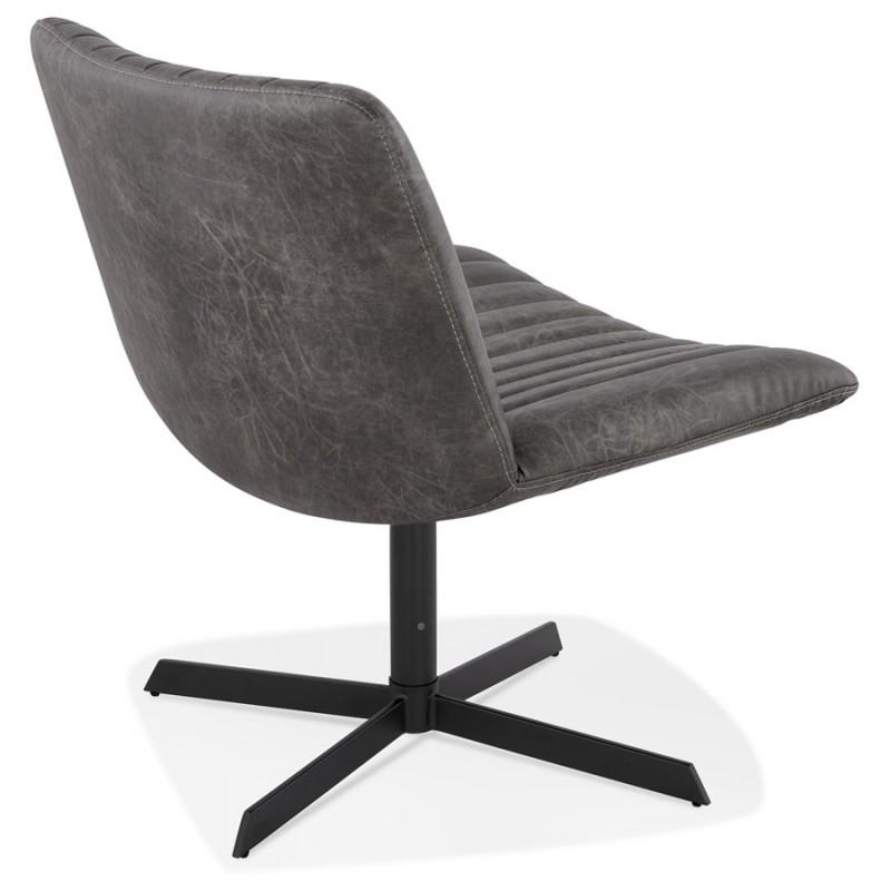 PALOMA Dreh vintage Stuhl (dunkelgrau) - image 47267
