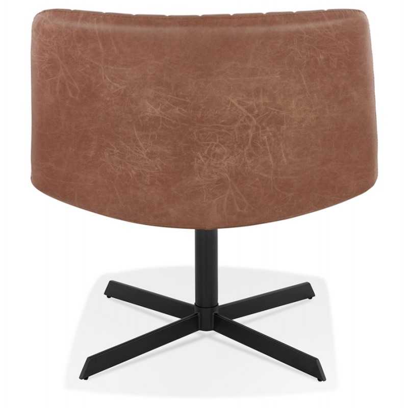 PALOMA swivel vintage chair (brown) - image 47281