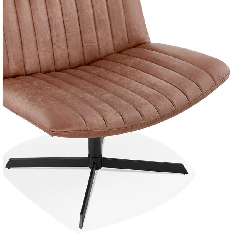 PALOMA swivel vintage chair (brown) - image 47282
