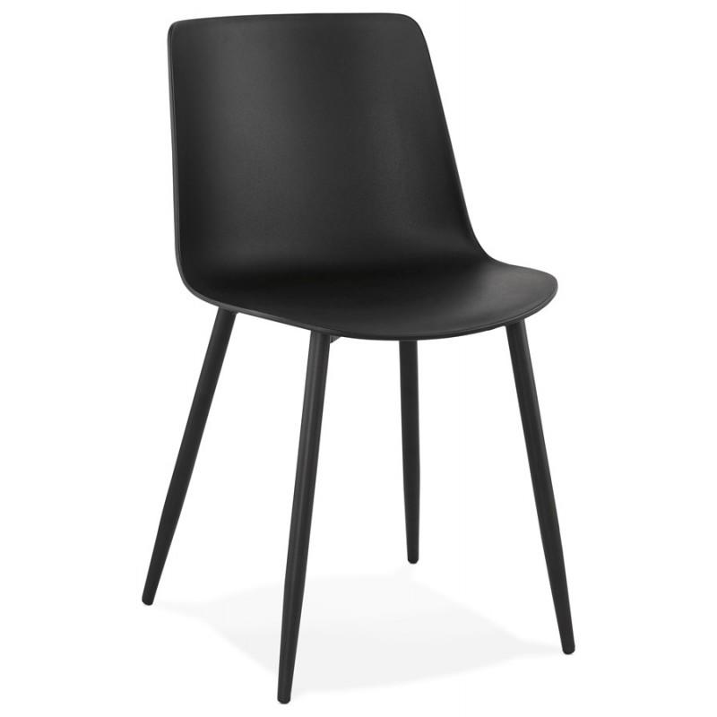 Chaise design et contemporaine MANDY (noir) - image 47577