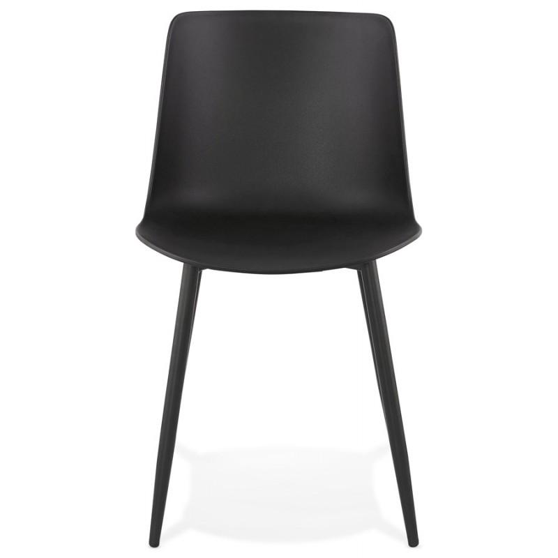 Chaise design et contemporaine MANDY (noir) - image 47578