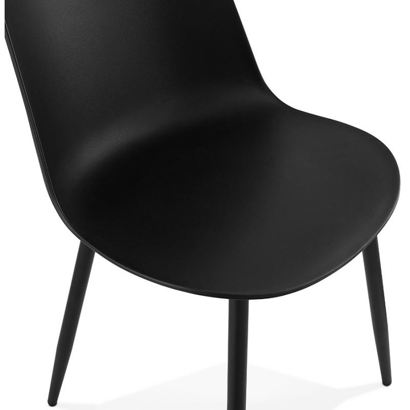 Chaise design et contemporaine MANDY (noir) - image 47582