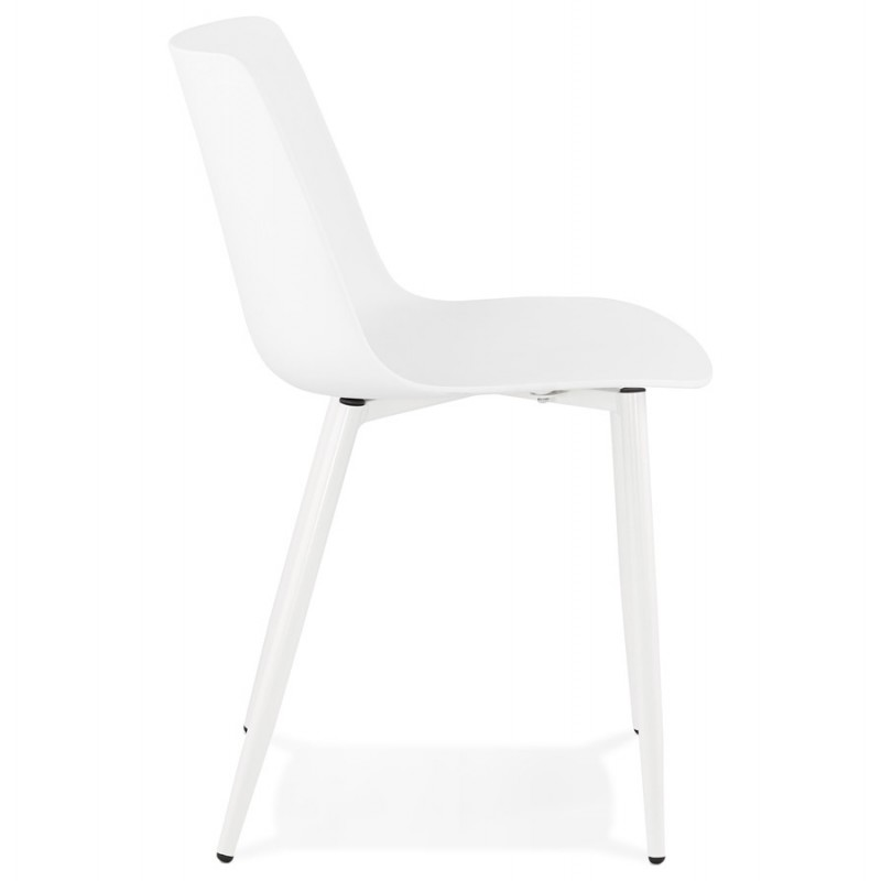Chaise design et contemporaine MANDY (blanc) - image 47592