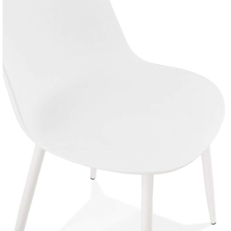 Chaise design et contemporaine MANDY (blanc) - image 47597