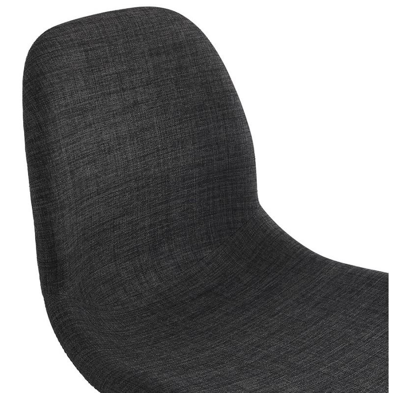 Chaise de bureau sur roulettes en tissu MARYA (gris anthracite) - image 48085