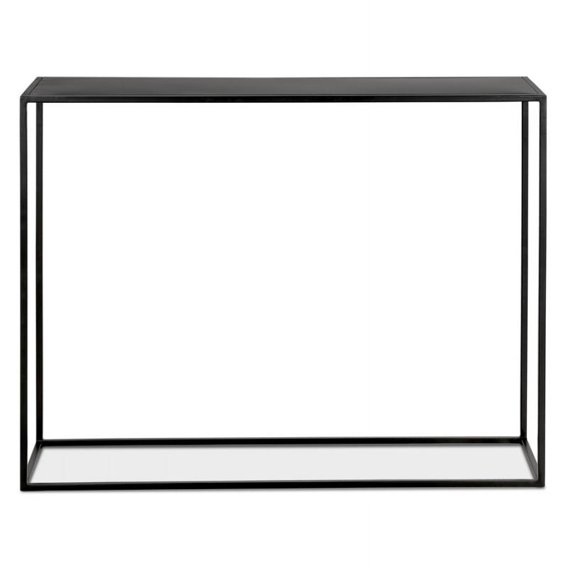 Consola de metal INDUSTRIAL ROSALINE (negro) - image 48343