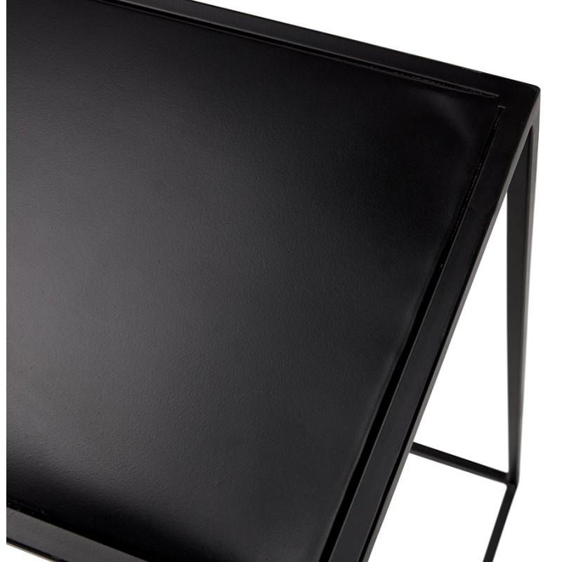 Consola de metal INDUSTRIAL ROSALINE (negro) - image 48348