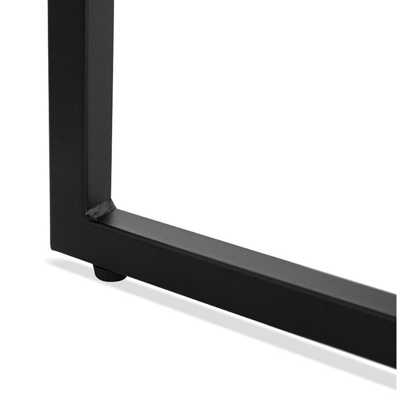 Consola de diseño de madera y metal negro ROSALINE (acabado natural) - image 48365